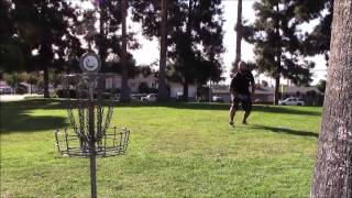 Disc Golf at La Mirada 12/1/13