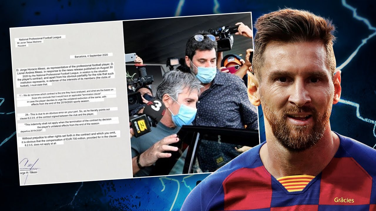 OFFICIAL: Lionel Messi TO STAY At Barcelona! | #WNTT