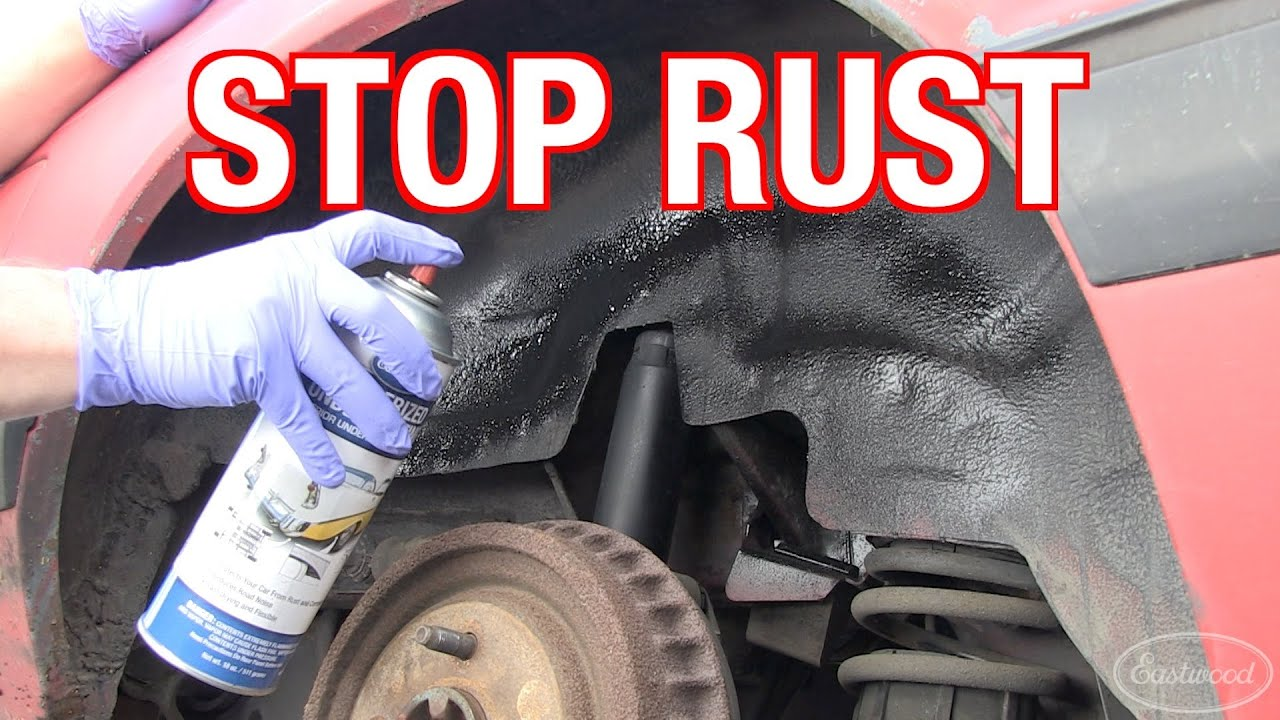 How To Stop Rust >> How To Remove Rust Treating Preventing Rust On R D Corner From