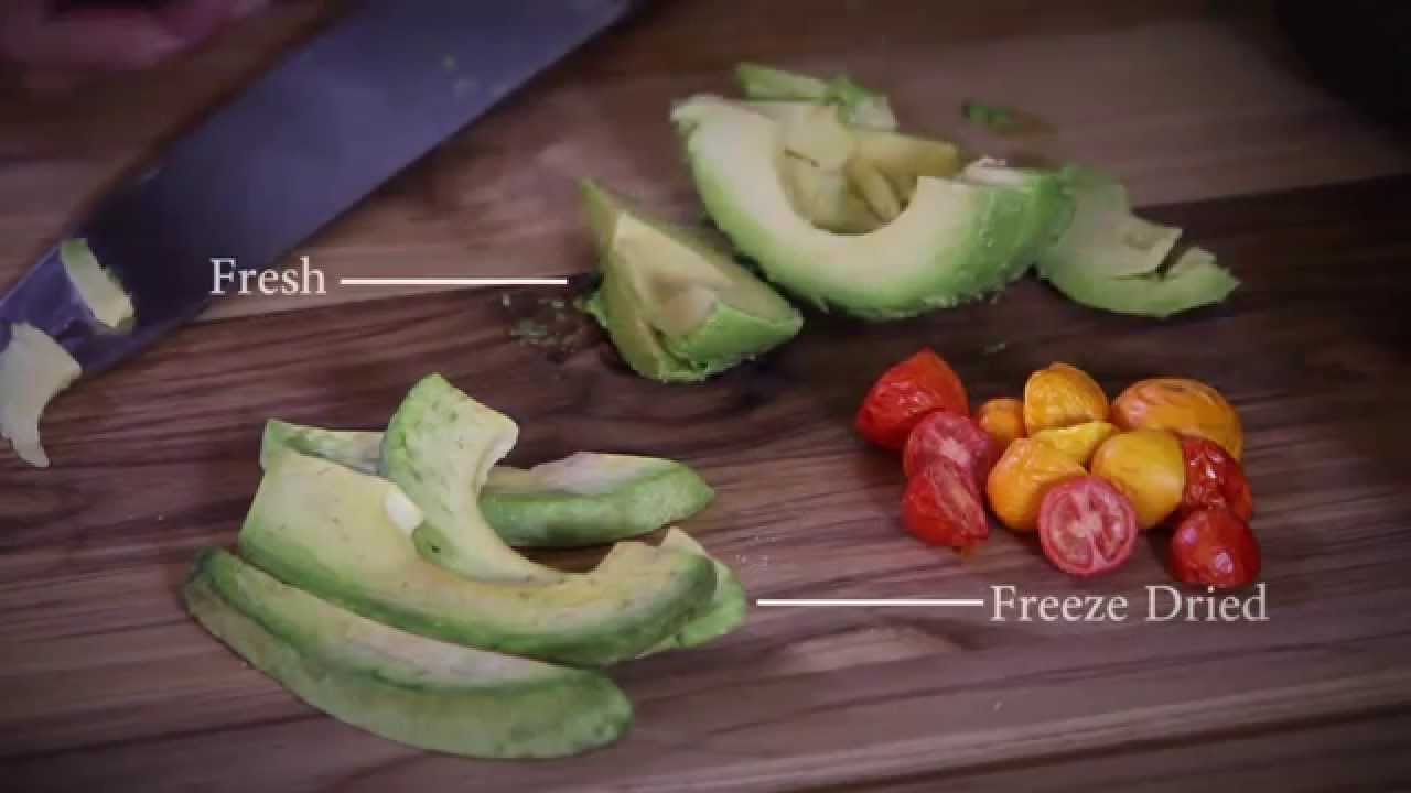 Home Freeze Dried Food Appearance Taste And Nutrition Youtube