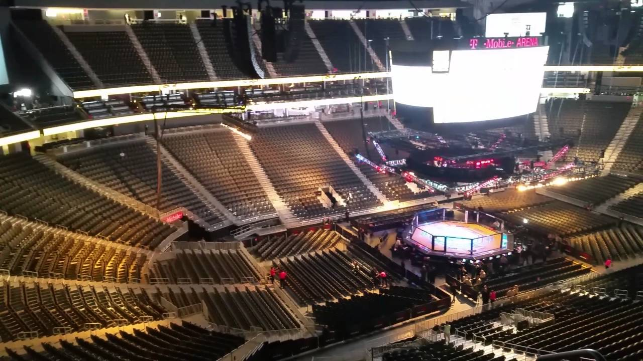 T Mobile Arena Ufc 200 Section 201 Row J Youtube