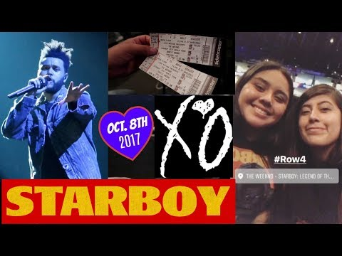 Concert Vlog: (FOURTH ROW) The Weeknd | STARBOY Legend of the Fall Tour @ SAP Center