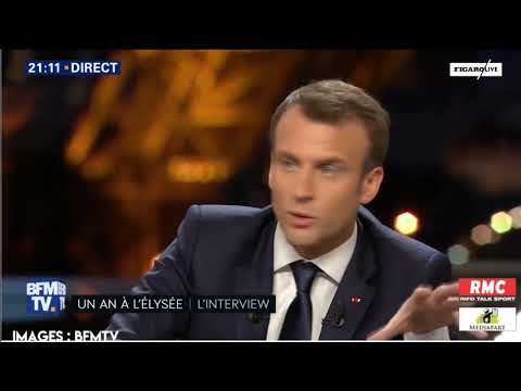 Macron sur BFMTV et Mediapart : le décryptage