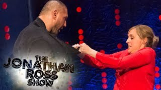 Mel Giedroyc Shows Dave Bautista Her Jujutsu Moves | The Jonathan Ross Show