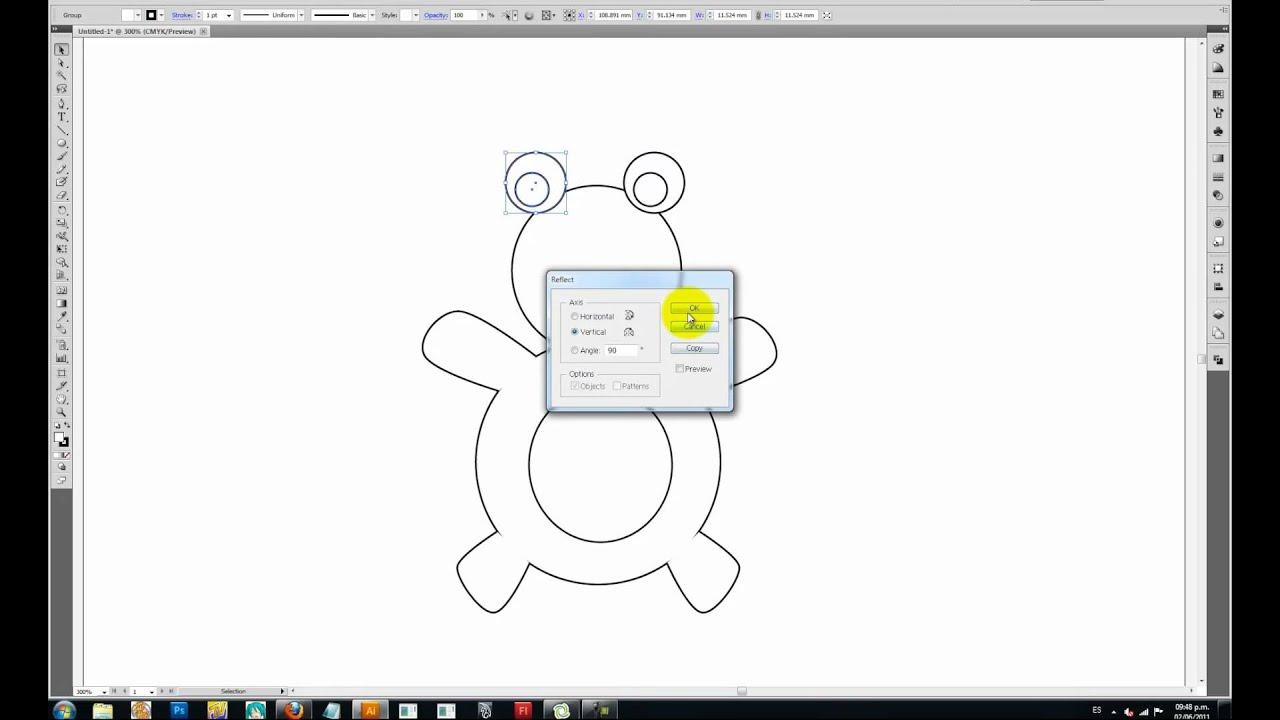 Video Tutorial Illustrator 03-- Oso vectorizado parte 1