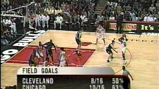 Cavaliers @ Bulls, 1998 (Gm 56)