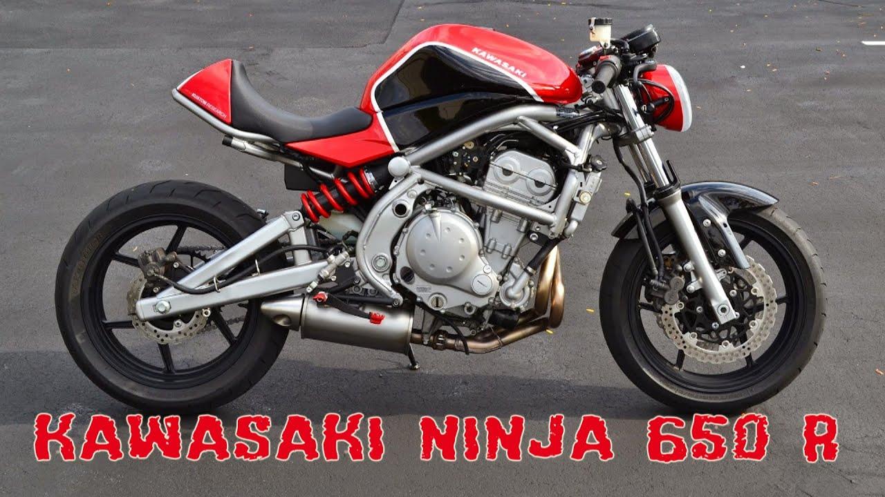 Kawasaki Ninja 650R Cafe Racer