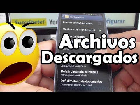 como-ver-archivos-descargados-en-samsung-galaxy-s3-español
