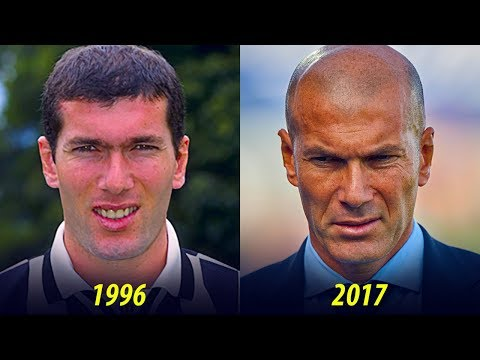 Zinédine Zidane - Transformation From 1 To 45 Years Old