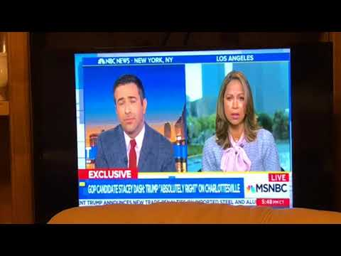 Stacey Dash MSNBC Interview On Run For Congress 2018