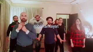 Iman ali's dance practices. Choreography by @goharhayat
