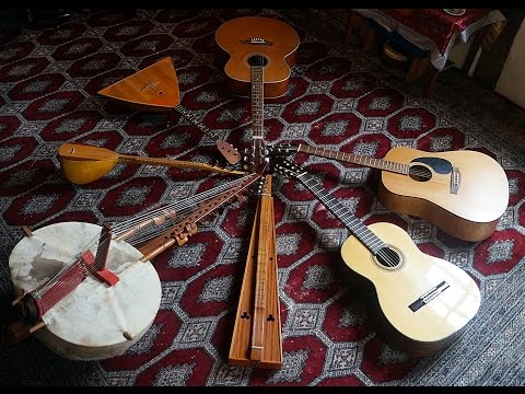 LOOP Audio Collection of Guitar, Oriental + Brass MUSIC Kaleidoscope by Jens Egert