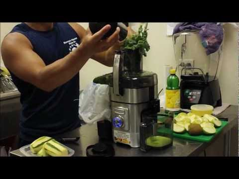 Green Dragon Juice (The Steriod from Nature)