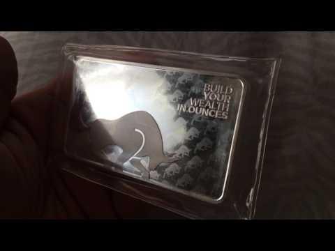 10oz Silver Gold Bull Silver Bar for Spot