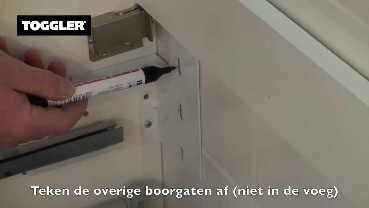 Badkamermeubel Aan Gipsplaat Met Toggler Pluggen Ankers
