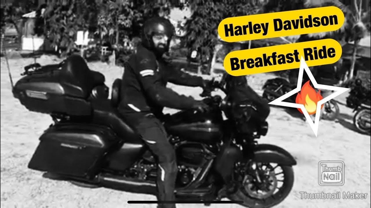 Harley Davidson Breakfast Ride Sunset Point Resort Jawhar