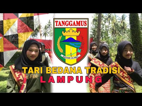 Tari Bedana Tradisi Tanggamus   Tari Lampung
