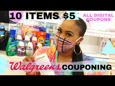 WALGREENS COUPONING! ALL DIGITAL COUPONS! EASY COUPON DEAL | ANYONE CAN DO THIS! ONE CUTE COUPONER
