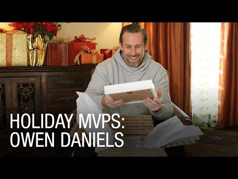 Owen Daniels Surprised with Gift From His Baby Son