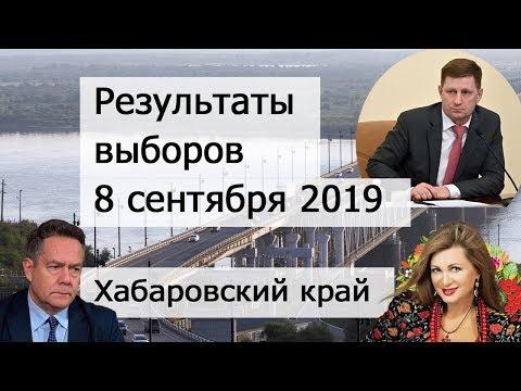 Результаты выборов в Хабаровском крае 8 сентября 2019