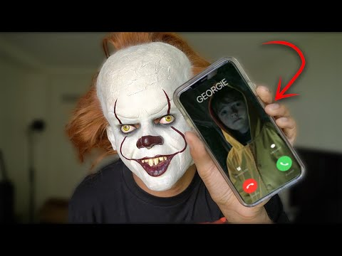 PENNYWISE PRANK CALL: IT CHAPTER 2! (SCARING RANDOM PEOPLE)