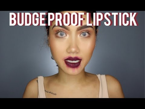 BUDGE PROOF LIPSTICK HACK | EVERYTHINGBEAUTYXO