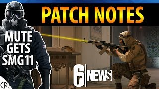 Patch Notes, Mute gets SMG11 - 6News - Tom Clancy's Rainbow Six Siege