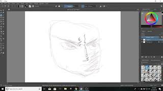 omega level krita sketch