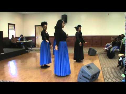 Praise Dancers - I Give Myself Away x William McDowell