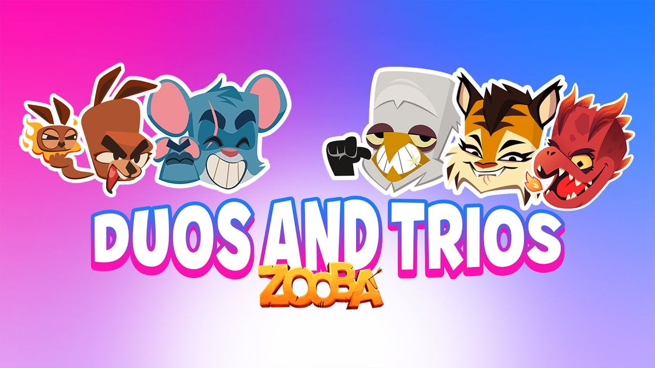 Zooba Clips of the Week #8 - Duos and Trios