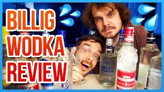 Der BESTE BILLIG WODKA von allen - Copy Space