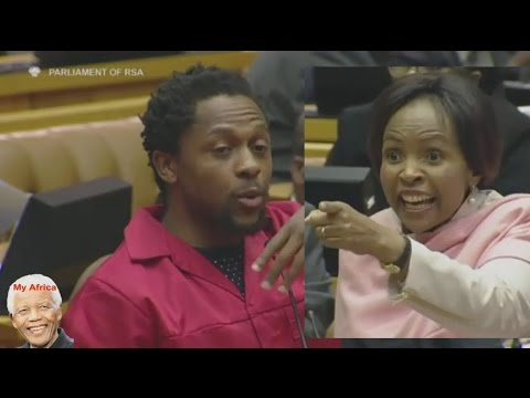 EFF Ndlozi - The Minister Is Sleeping On The Job. Very Funny
