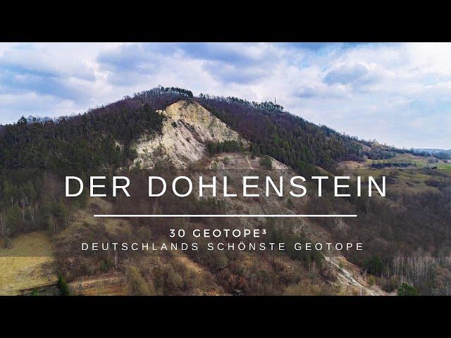 Der Dohlenstein - 30 Geotope³ -  Deutschlands schönste Geotope