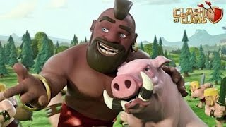 Ataque Cv8 corredor - 100% CLASH OF CLANS