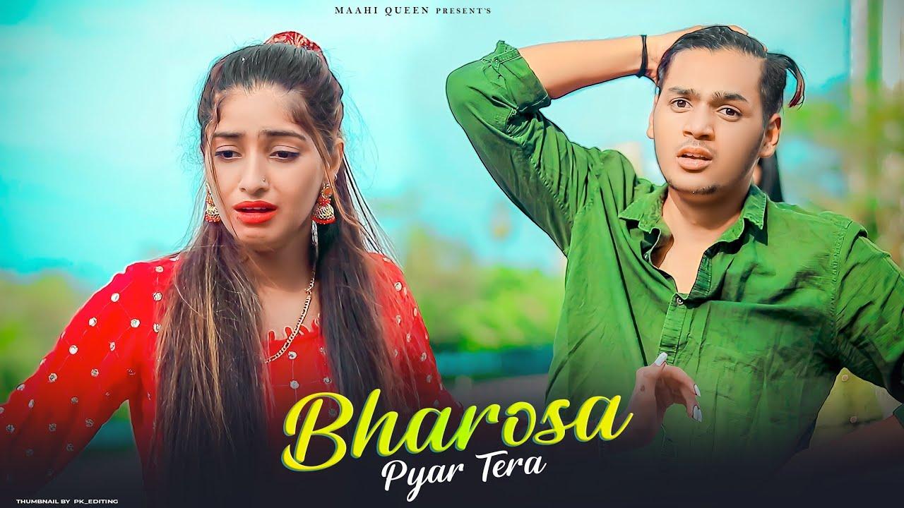 Bharosa Pyar Tera | Blind Girl Love Story |  Sad Song 2021 | Sahir Ali Bagga | Maahi Queen & Aryan