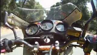 Yamaha RZ350 Wicked Motorsports RZ385 Hitting the Canyon with Killer