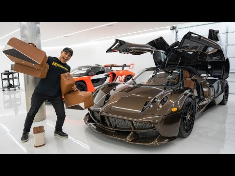 Pagani Huayra Hermes Edition: The Process