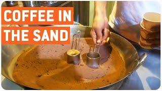Boiling Coffee Using Sand | Bizarre Starbucks