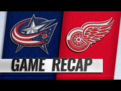 Dubois leads Jackets to 7-5 win over Red Wings