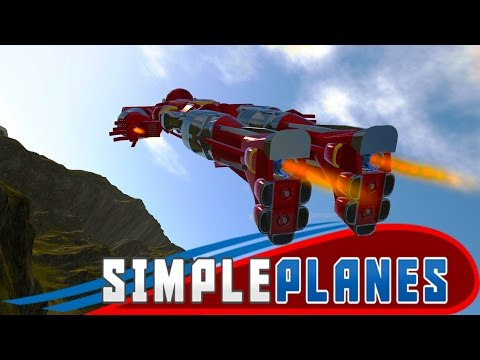 SimplePlanes Best Creations - IRON MAN, Flying Dinosaur & More! - SimplePlanes Gameplay Highlights