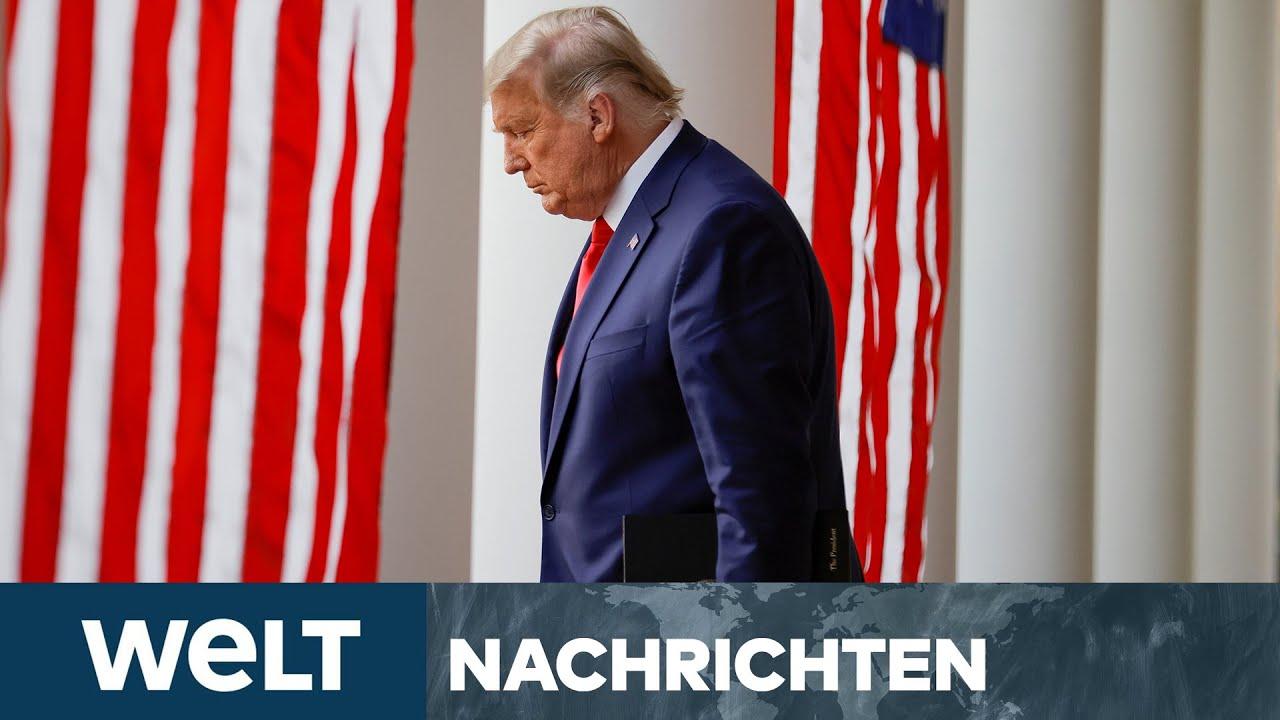 NEWS IM STREAM: US-WAHL - Trump räumt erstmals Niederlage ein - aber...