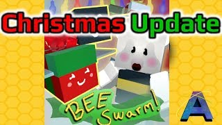 🔴 CHRISTMAS UPDATE HYPE! Roblox Bee Swarm Simulator LIVE!