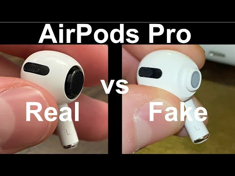 How to Identify Fake AirPods Pro