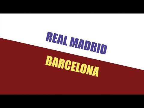 REAL MADRID X BARCELONA - EP. 1 - 2a TEMP. - DIA DE CLÁSSICO