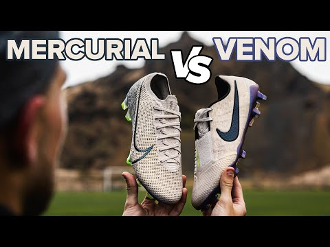 MERCURIAL Vs VENOM | Nike Football Boot Battle