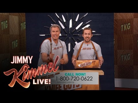 The Knife Guys Return! (featuring Will Ferrell & Ryan Gosling)