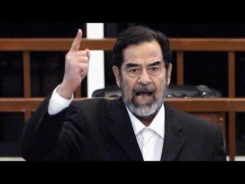 Saddam Hussein's speech in court! One of the greatest speech!