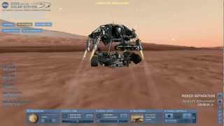 Mars Science Laboratory Entry/Descent/Landing in Eyes on the Solar System