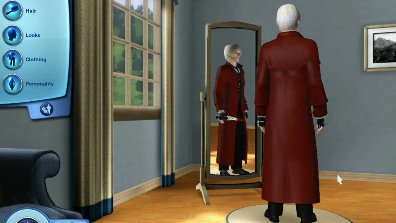 dante devil may cry 4 in the sims 3 world adventures with. Black Bedroom Furniture Sets. Home Design Ideas
