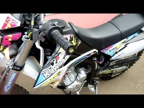 Kawasaki KLX 250 SF 2011 years cold start